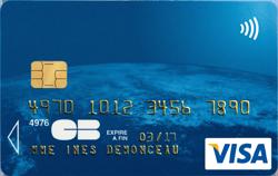 prix carte visa classique